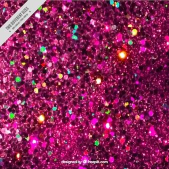 Розовый фон блестки с цветными отражениями