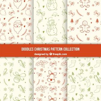 Коллекция рождественских болваны моделей