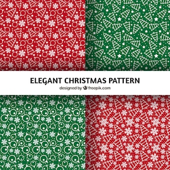 Пакет элегантных моделей ручной тяге рождественские украшения