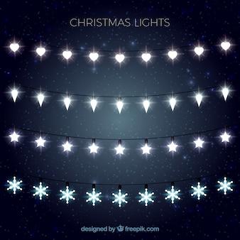 Выбор освещаемых рождественские огни