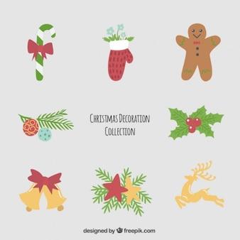 クリスマスのお祝いのための装飾品