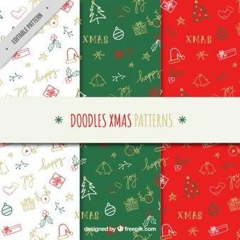 Декоративные болваны рождественские узоры