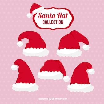 サンタクロースの帽子コレクション