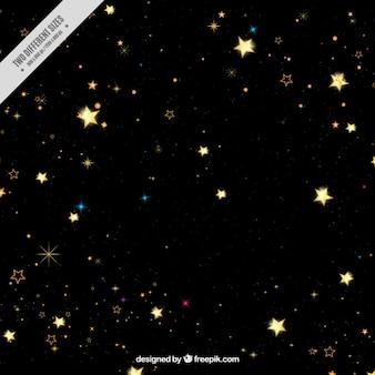 Темный фон звезд