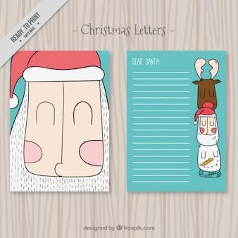 サンタクロースの素敵なクリスマスの手紙
