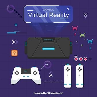 Коллекция элементами виртуальной реальности