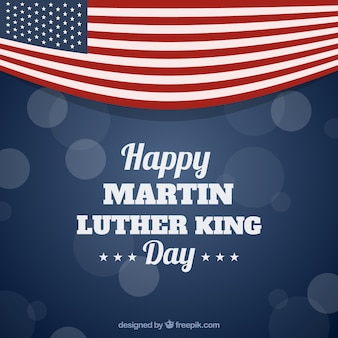 マーティン・ルーサー・キングの日のボケの背景