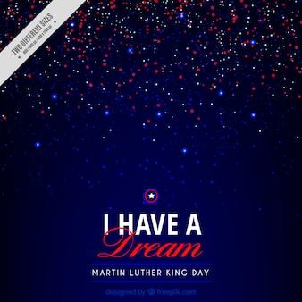 シャイニーマーティン・ルーサー・キングの日の背景