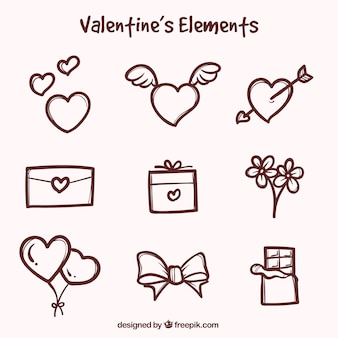 Декоративные предметы для дня святого валентина