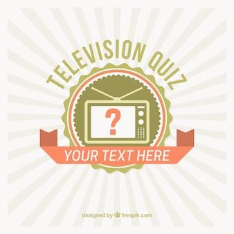 Урожай фон с телевизионного конкурса значок