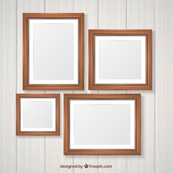 写真を木製フレームパック