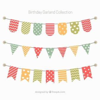 Пакет декоративных венков по случаю дня рождения