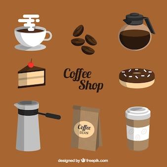 コーヒー要素のパック