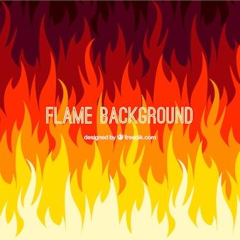 抽象的な炎の背景