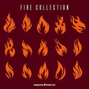 Коллекция огонь