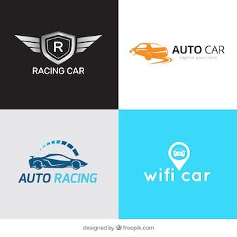 Несколько логотипов автомобилей