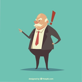Злой характер босса