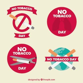 Четыре стикеры для курения