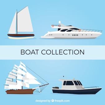 現実的なデザインの素晴らしいボート