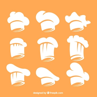 シェフの帽子コレクション