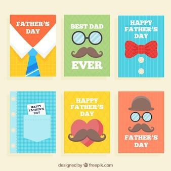 Коллекция поздравительных открыток с отцом
