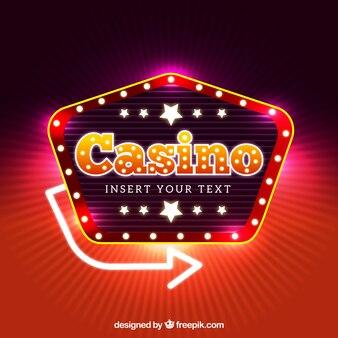 カジノの背景デザイン