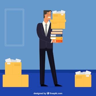 Предпринимательский характер с большим количеством работы
