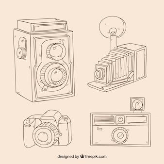 Коллекция эскизных камер
