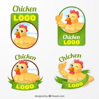 Набор логотипов для фермеров