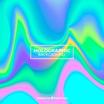 カラフルなホログラフィックの背景