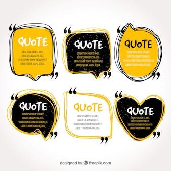 Коллекция шаблонов цитат