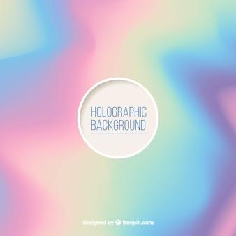 デフォーカスされたホログラフィック背景