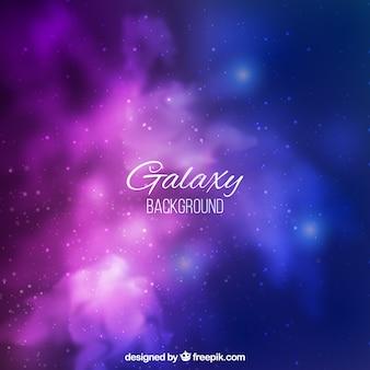 Довольно фоне галактики