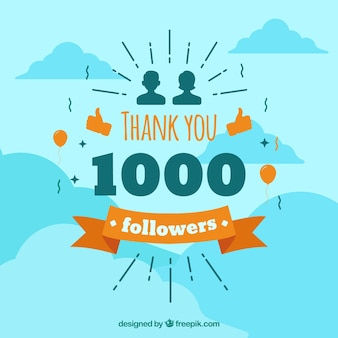 Спасибо, последователи