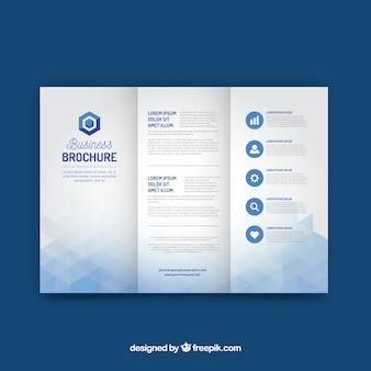 Шаблон бизнес-триптиха