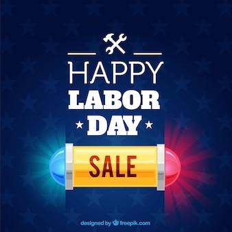 労働日の売上の背景