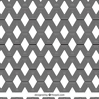 サイケデリックな幾何学的パターンの背景