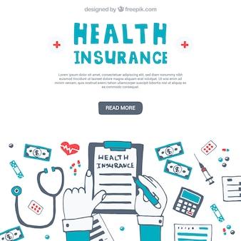 楽しい健康保険の組成