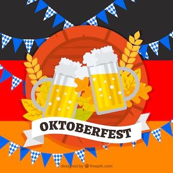 フラットビールとパーティーの要素