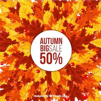 円と落葉の秋の販売