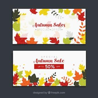 Рекламные баннеры для осени