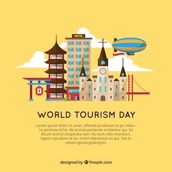 Всемирный день туризма, посещение разных городов