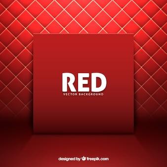 赤い背景を埋める