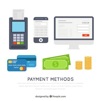 現代と従来の支払い方法