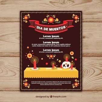 Плакат дня дедов с классическим стилем