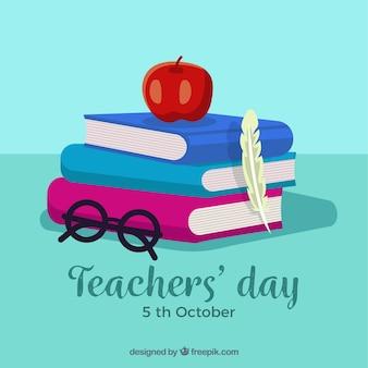 教師の日の背景