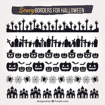 Хэллоуинская пограничная коллекция