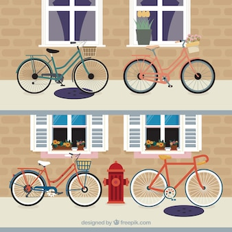 Пакет велосипедов