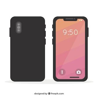 携帯電話のデザイン