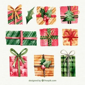 Красивые рождественские подарки
